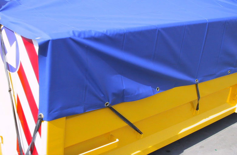 Container cover tarpaulins