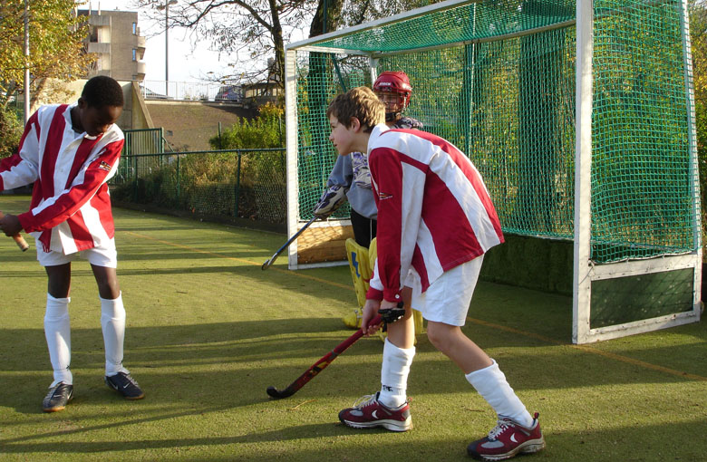 Field hockey goal nets Netten