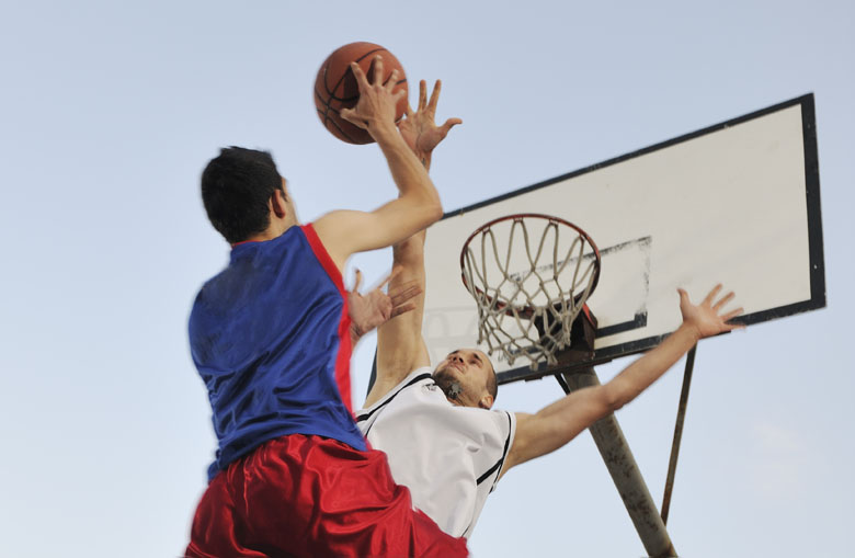 Antivandalisme basketbalnetten