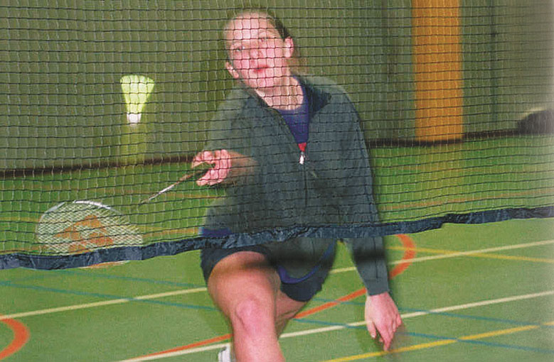 Badminton net sets Netten