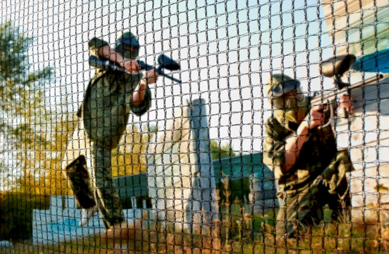 Paintballafschermnetten