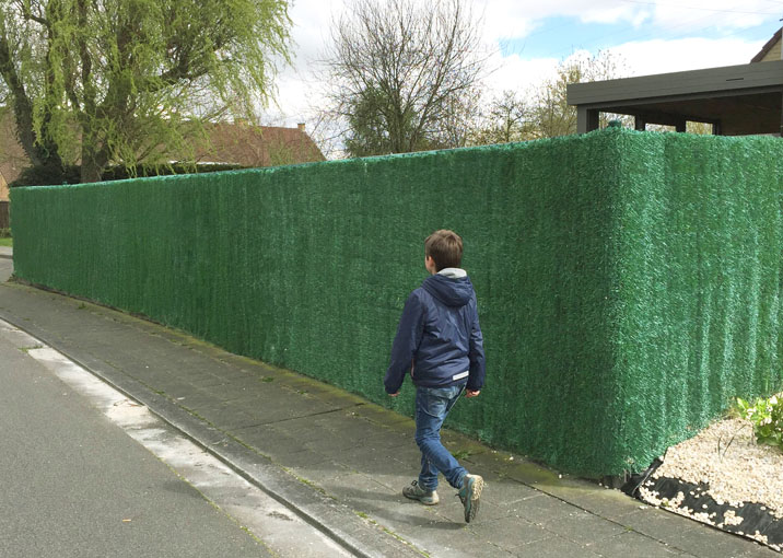 Artificial hedge screening Netten
