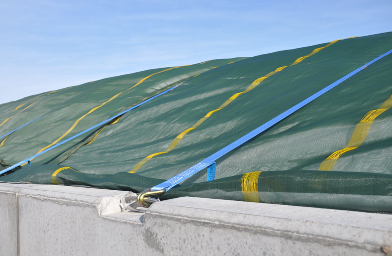 Silage protection nets Netten